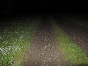 Photo: terug de koude nacht in voor mijn laatste 25 km lus