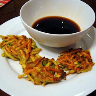 Sweet Potato and Kimchi Pancakes Recipe