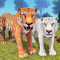 Tiger Family Simulator: Angry Tiger Games icon