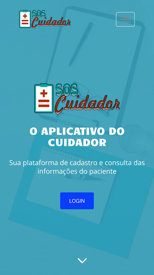SOS Cuidador- screenshot