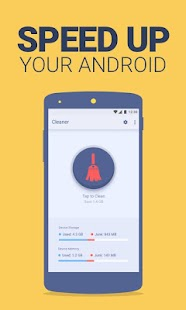 Clean Droid: 1 Tap Cache Boost & Junk File Cleaner - náhled