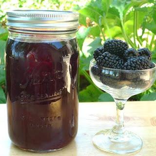 DIY Blackberry Liqueur.