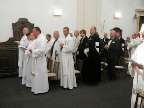 Photo: kněží, řádový bratři, kandidáti a familiáři Německého řádu