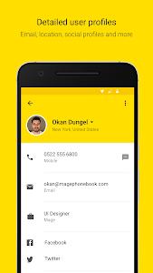 Mage - Smart Phonebook screenshot 1