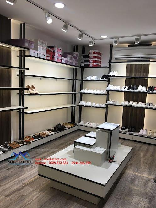 thiết kế thi công shop giày dép thời trang ha huyen 10
