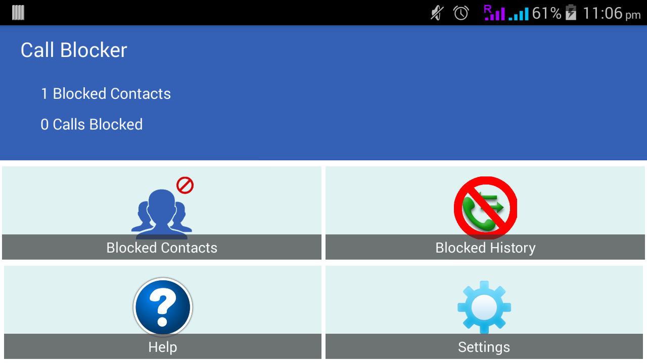 Ultimate Call Blocker- screenshot