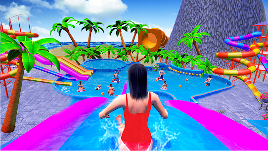 Water Sliding Adventure Park – Water Slide Games 3