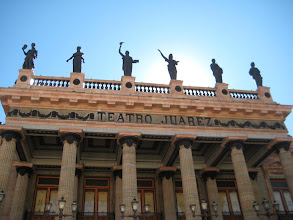 Photo: The main theater, Teatro Juarez, is patterened after the Paris Opera House.