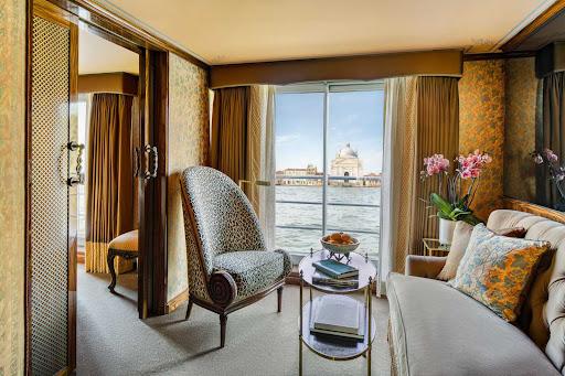ss-la-venezia-suite.jpg - Unwind from your explorations of northern Italy in a suite on S.S. La Venezia