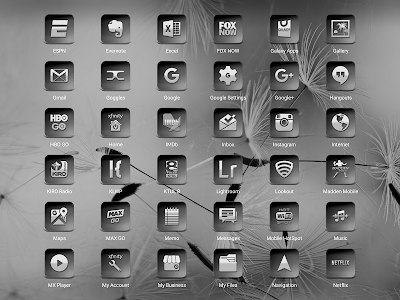 Bacca Gray - Icon Pack screenshot 10