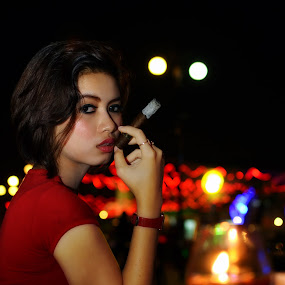 My Cigar by Aditya Krista - Novices Only Portraits & People