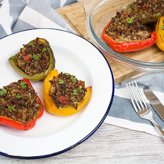 Beef And Millet Stuffed Peppers