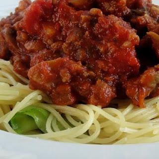 Easy Homemade Spaghetti Sauce.