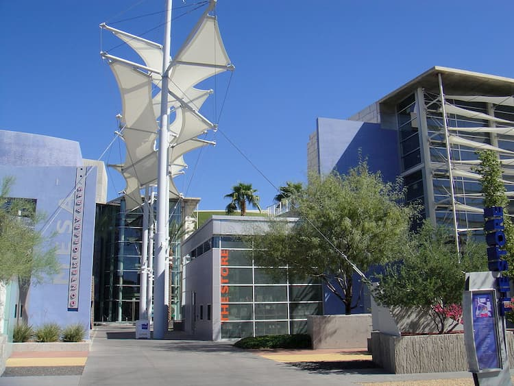Outside of Mesa Arts Center