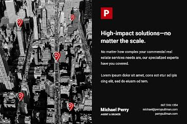 High Impact Solutions - Postcard template