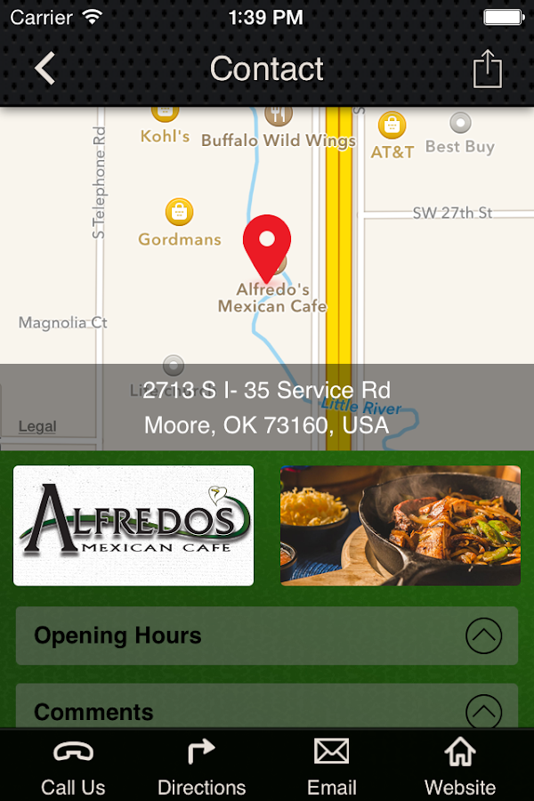 Alfredo's Mexican Cafe - Moore- screenshot