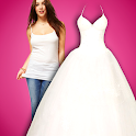 Wedding dress bride Photo icon