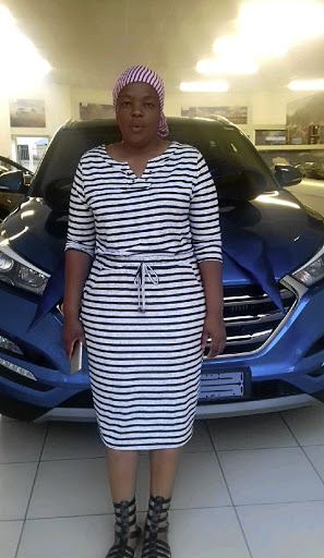 Connie Mmola's car was wrecked when she took it in for a service. / Supplied