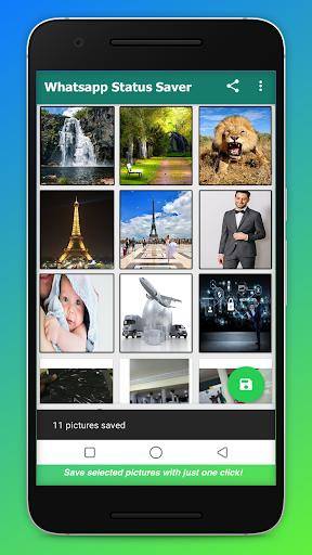Status Saver : Download status for whatsapp 2020 1.8 screenshots 1