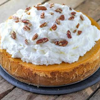 Cheesecake Factory Pumpkin Cheesecake.