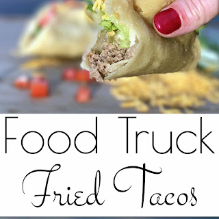 Food Truck Fried Tacos.