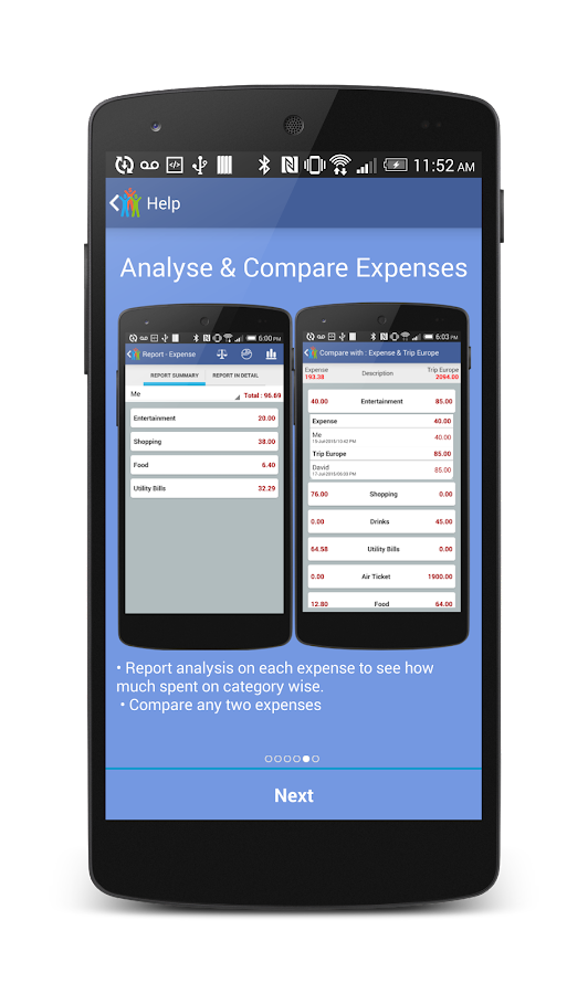 Expense Manager & Divider- screenshot