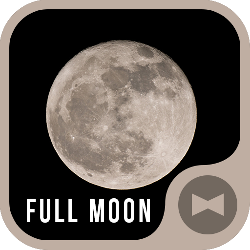 Stylish Wallpaper Full Moon Theme Icon