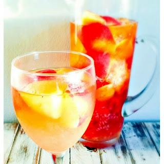 Raspberry Nectarine Sangria