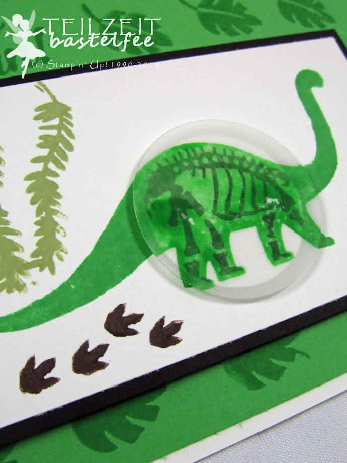 Stampin' Up! – Kid's Birthday, Kind Geburtstag, Kindergeburtstag, Dinosaurier, Dino, No bones about it, InColors