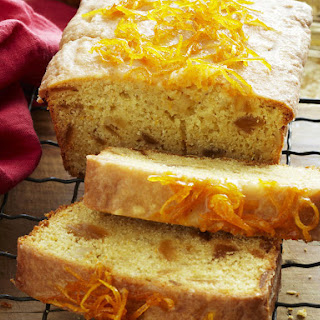 Iced Orange Ginger Loaf