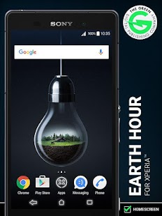 Earth Hour for Xperia™- screenshot thumbnail