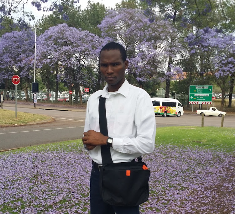 Dumisani Mthembu, Umthombo scholar and sixth-year medical student at University of Pretoria.