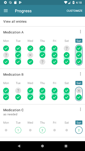 Medication Reminder & Pill Tracker 3.46.0 screenshots 8