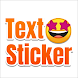 TextSticker - Create text sticker with color font