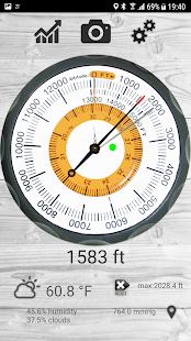 Altimetro - altimeter pro Screenshot