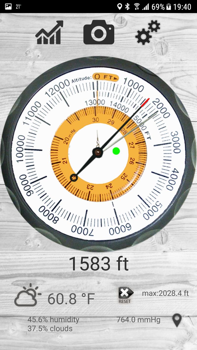 Altimetro - altimeter pro Screenshot 0