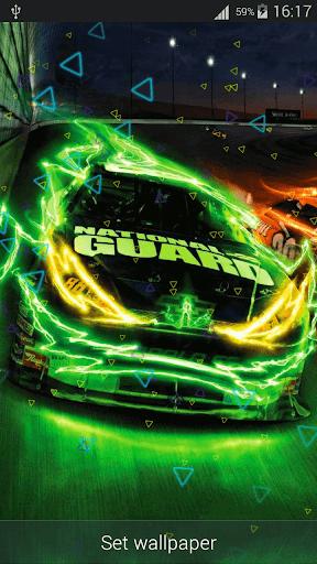Neon Cars Live Wallpaper HD 2.8 screenshots 4