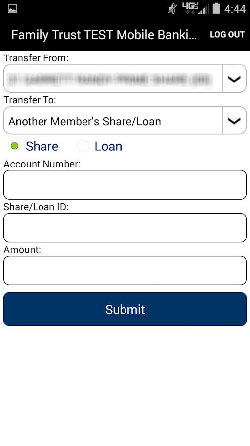 Family Trust Mobile Banking- screenshot