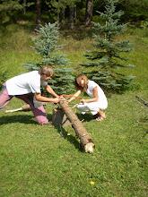 Photo: Ťahaj Lenka, na vatru treba veľa dreva