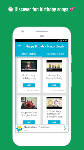 Download Happy Birthday Songs On Pc Mac With Appkiwi Apk Downloader
