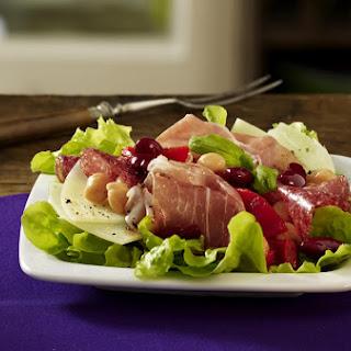 Colorful Antipasto Salad.