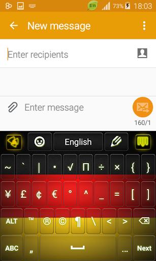 玩免費個人化APP|下載Germany Keyboard app不用錢|硬是要APP