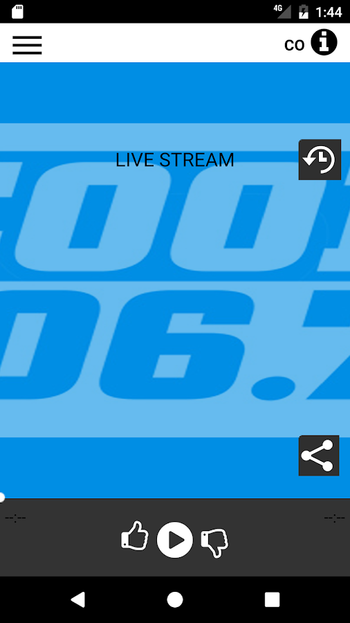 COOL106.7- screenshot