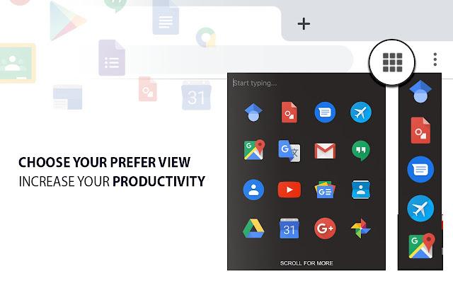 Google Apps Quick Launcher