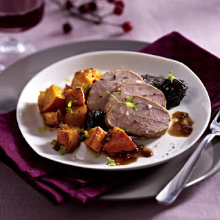 Pork Tenderloin with Honey Pumpkin