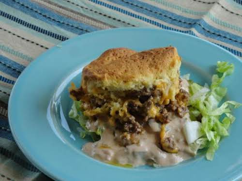 "Mac Attack!! Cheeseburger Casserole ""Tried this recipe tonight and it's definitely a..."