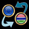 Euro x Gambian Dalasi icon