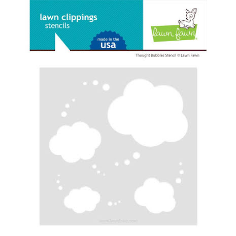 Lawn Fawn Stencils - Thought Bubbles