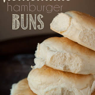 Homemade Hamburger Buns.