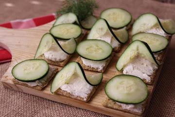 Cucumber Snacks Recipe